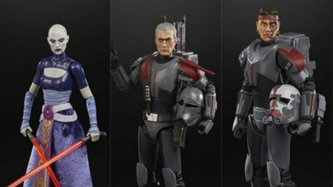 Hasbro : 3 nouvelles figurines Star Wars dans leur gamme Black Séries