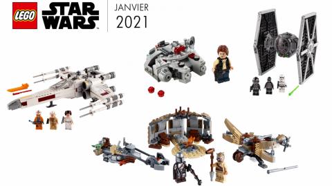 LEGO révèle de nouveaux sets Star Wars à venir dès le 1er janvier 2021