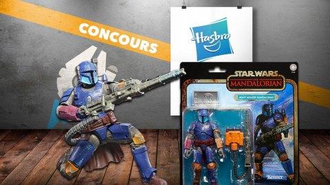 CONCOURS : Gagnez des figurines Hasbro Black Series The Mandalorian
