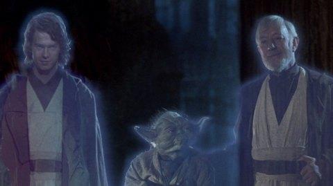 La raison de l'absence du fantôme d'Anakin dans la Postlogie ?