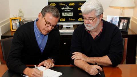 George Lucas explique pourquoi il a vendu Lucasfilm à Disney