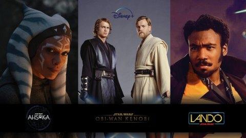 Nouvelles séries Star Wars sur Disney+