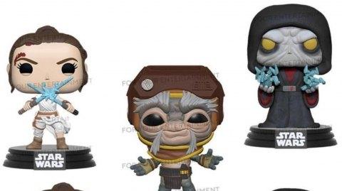 Cinq nouvelles figurines Funko Pop tirées de l'Ascension de Skywalker