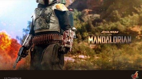 Hot Toys tease son nouveau Boba Fett version The Mandalorian