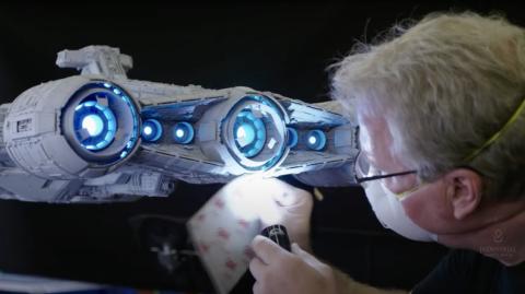 Une vidéo sur les effets visuels de la 2e saison de The Mandalorian