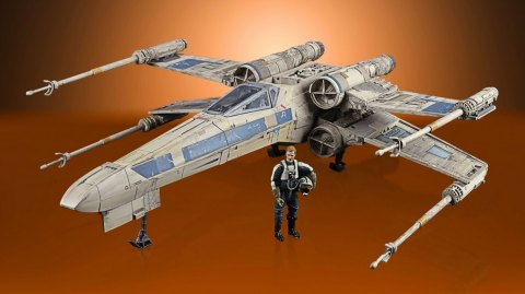 Hasbro dévoile de X-Wing du Général Merrick de Rogue One