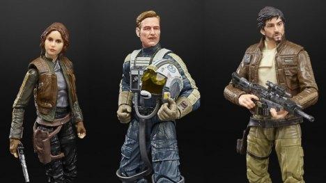 Hasbro met les figurines Black Series Rogue One à l'honneur