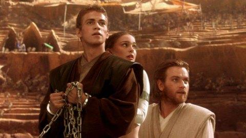 Hayden, Christensen, Natalie Portman et Ewan McGregor en dédicaces !