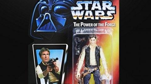 Hasbro rend hommage aux figurines Star Wars des années 90