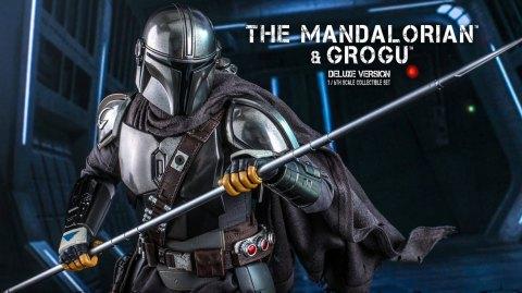 Le Mandalorien et Grogu en figurine Deluxe Hot Toys
