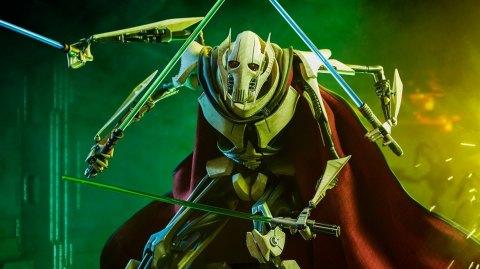 Sideshow dévoile ses statues de Grievous, Kylo Ren et Rey