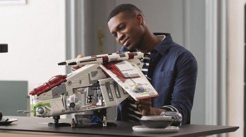Le Republic Gunship arrive en Lego UCS