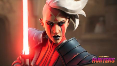 Une cinématique pour le jeu vidéo Star Wars Hunters