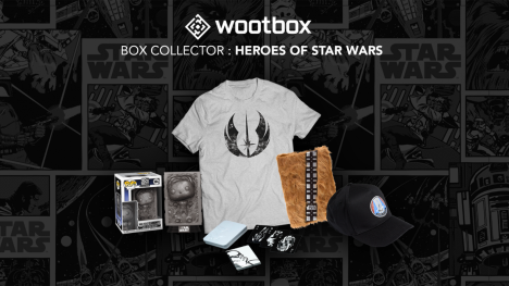 Wootbox - La box collector Heroes of Star Wars !