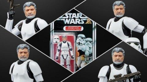 George Lucas aura sa figurine Star Wars Black Series chez Hasbro