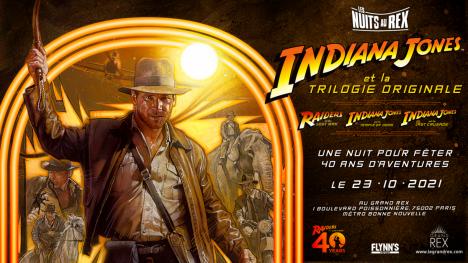 Assistez à la Nuit Indiana Jones au Grand Rex !